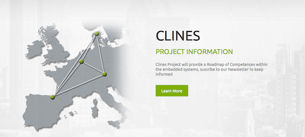 Portal proyecto europeo Clines.