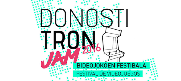 Cartel del festival DonostiTron Jam.