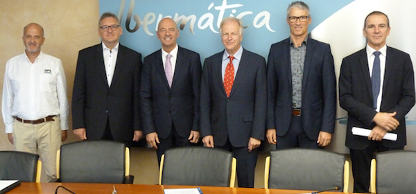 Members of Ibermatica and DPS have signed an agreement