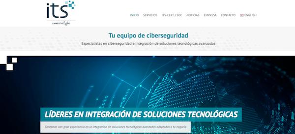 portal de la empresa ITS security.