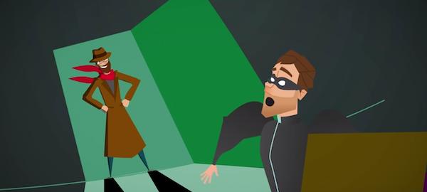 Imagen del videojuego Hackend.