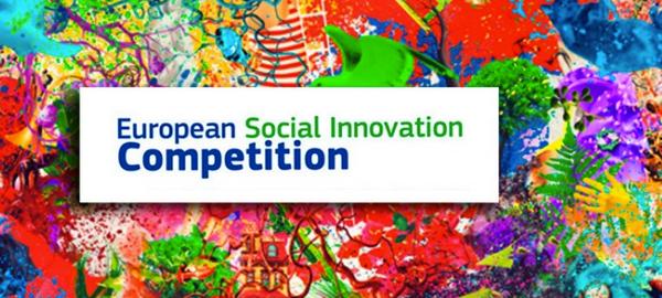 Cartel del certamen Social Innovation Competition de la Comisión Europea.