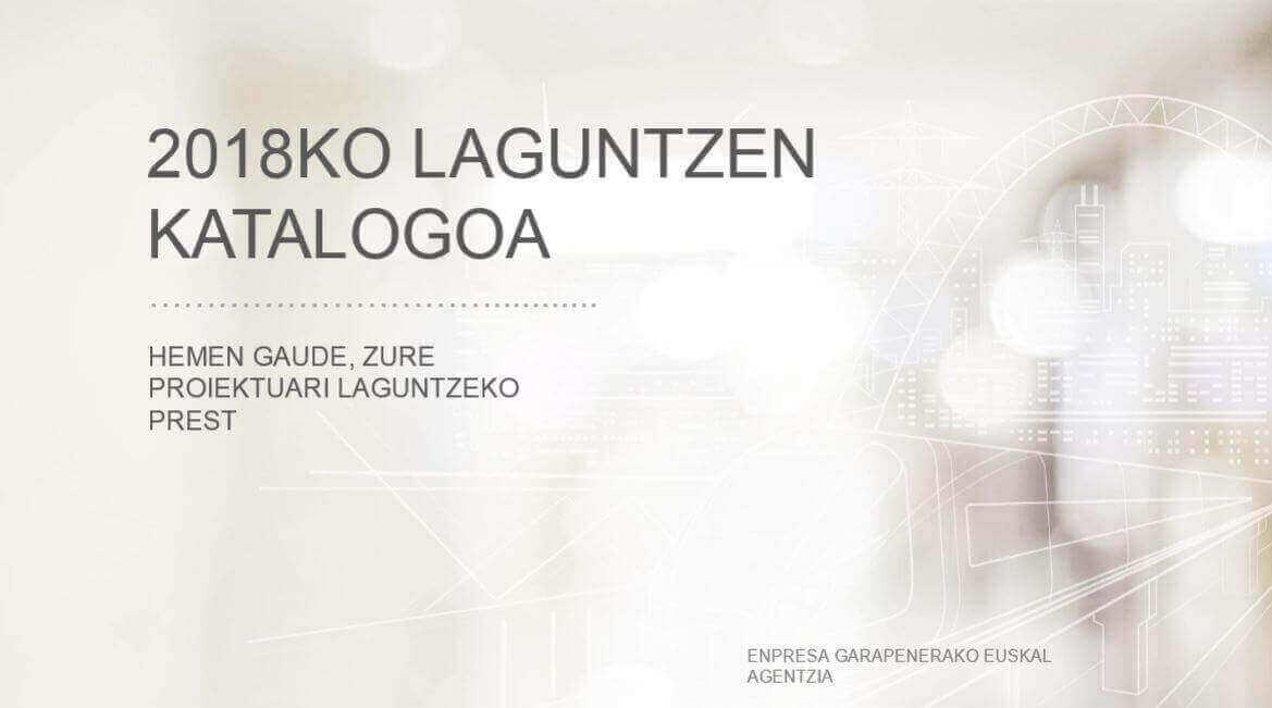 2018ko: <br>Laguntzen Katalogoa