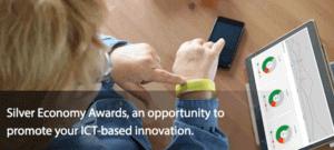 Pulsera para monitorizar la salud, imagen del portal Silver Economy Awards.