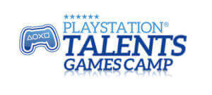 logotipo de playstation talents games camp