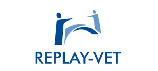 logotipo de replay vet