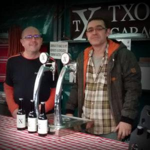 Txorierri Garagardoak Kepa Gallastegi, Pedro Alzola eta Félix Losada