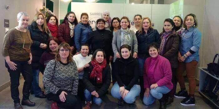 Participantes en el programa de capacitación Mentsad.