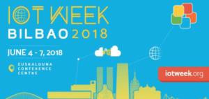 cartel IoT Week Bilbao.