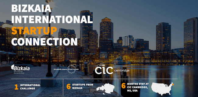 portal de Bizkaia International Startup Connection
