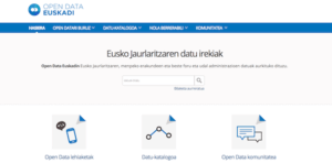 Euskadi Open Data