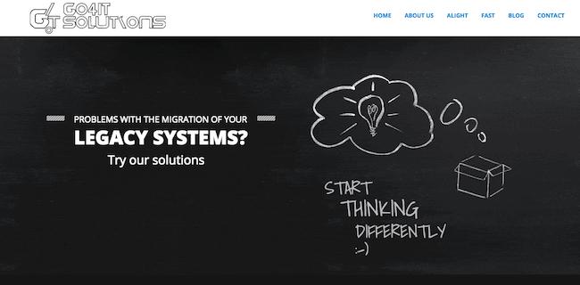web de la startup go4it solutions