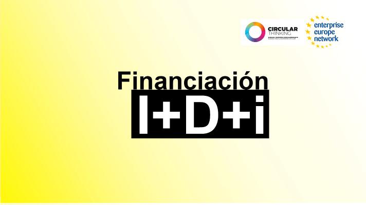 Jornada: Herramientas europeas de financiación de la I+D+i en economía circular