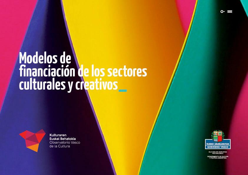 modelos definanciación sectores culturales y creativos