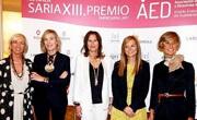 AED premios mujeres