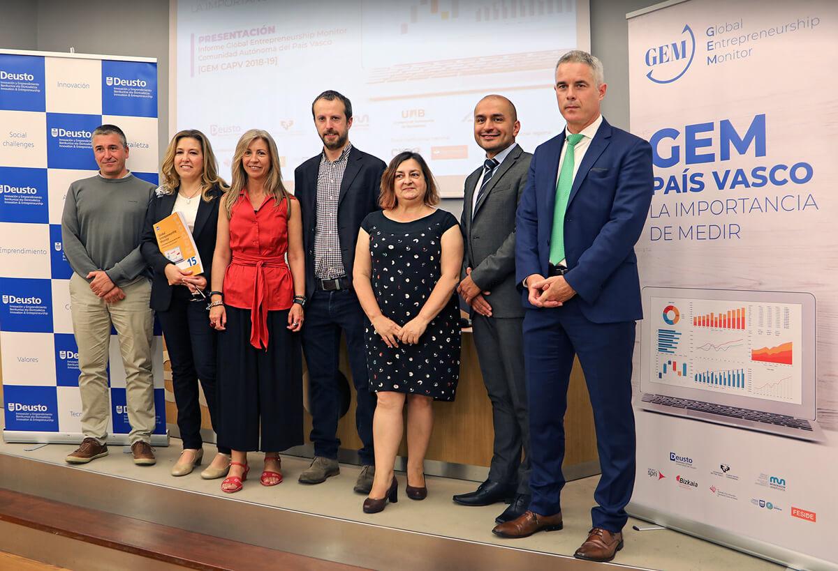 informe GEM 2019 Euskadi