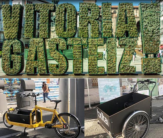 cargo bikes gasteiz vitoria