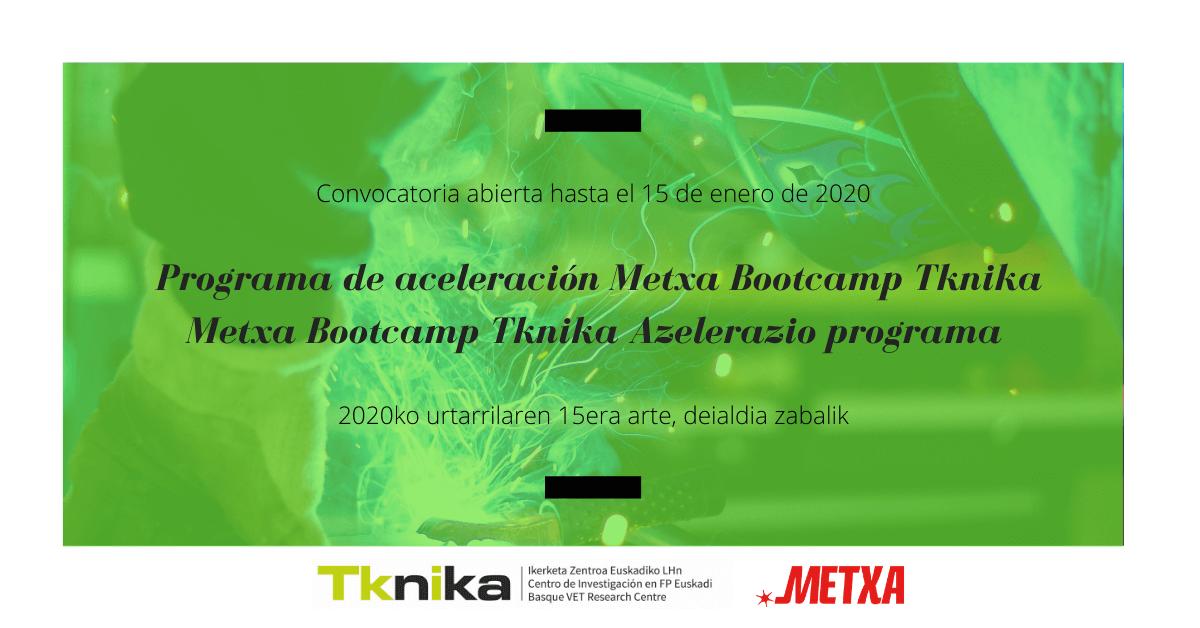 metxa bootcamp tknika
