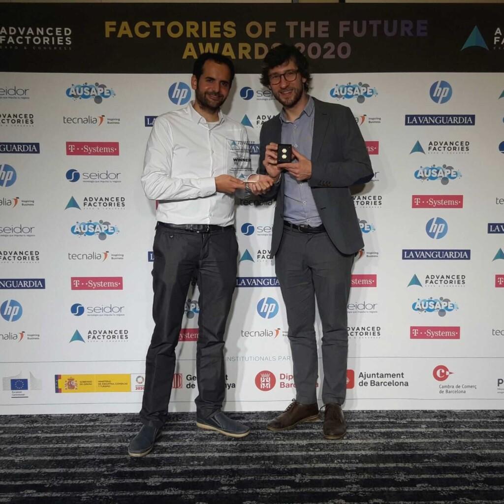Atten2, premiado por sus soluciones innovadoras en la digitalización y automatización de procesos industriales