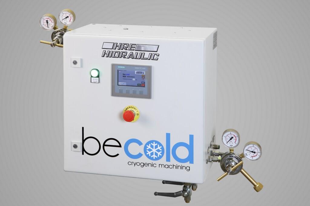 HRE Hidraulic impulsa la criogenización en el mundo del mecanizado con Be Cold