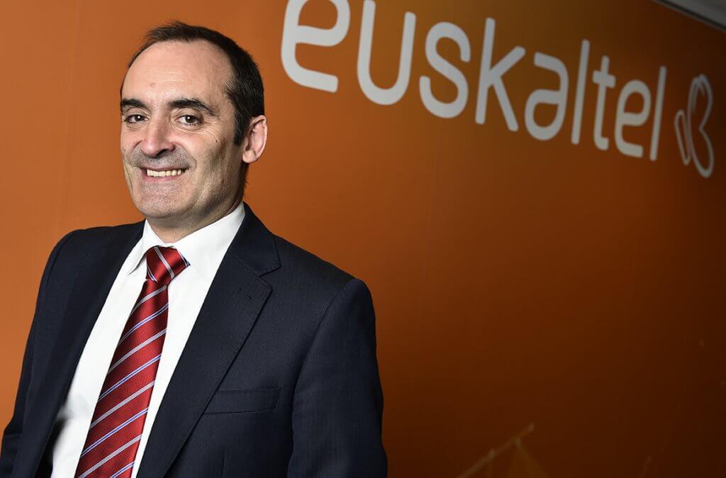 Norberto Ojinaga, director de Red del Grupo Euskaltel