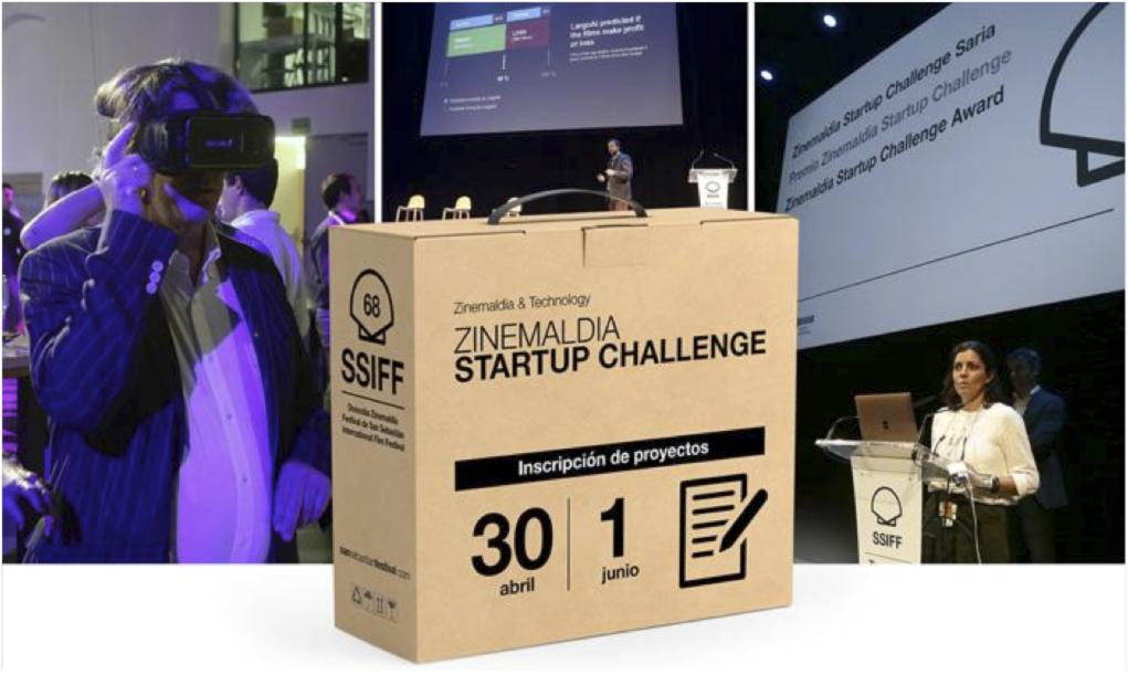 zinemaldia startups