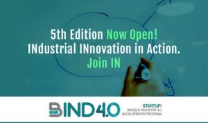 BIND 4.0 startups