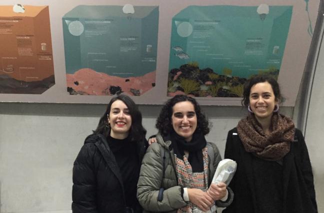Ana Madinabeitia, Izaskun Alberdi y Vega Asensio