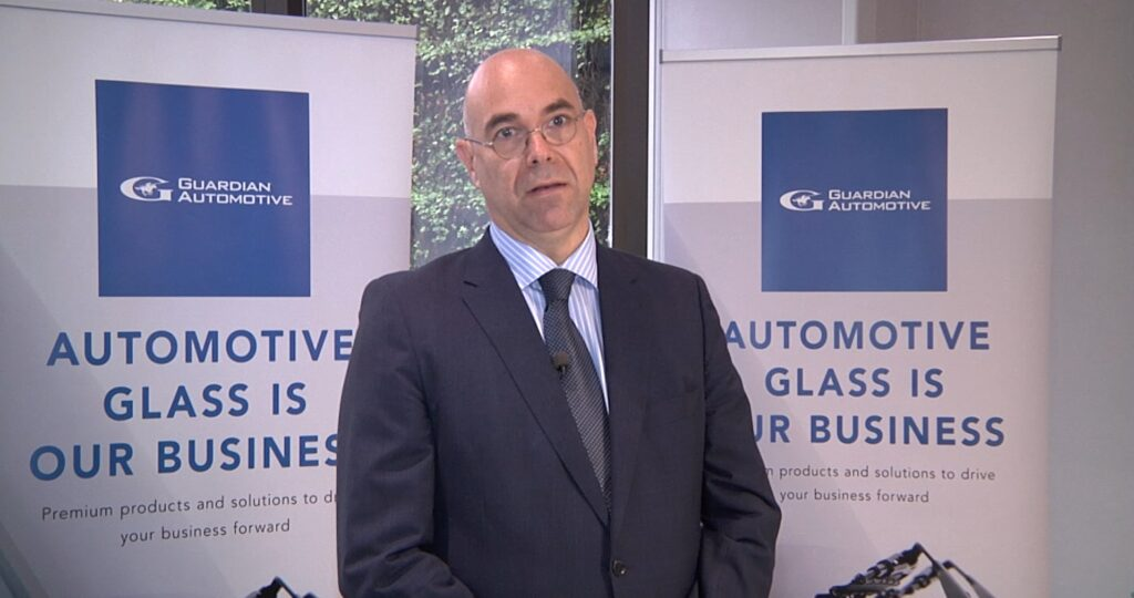 Óscar Tejedor, director general Guardian Automotive