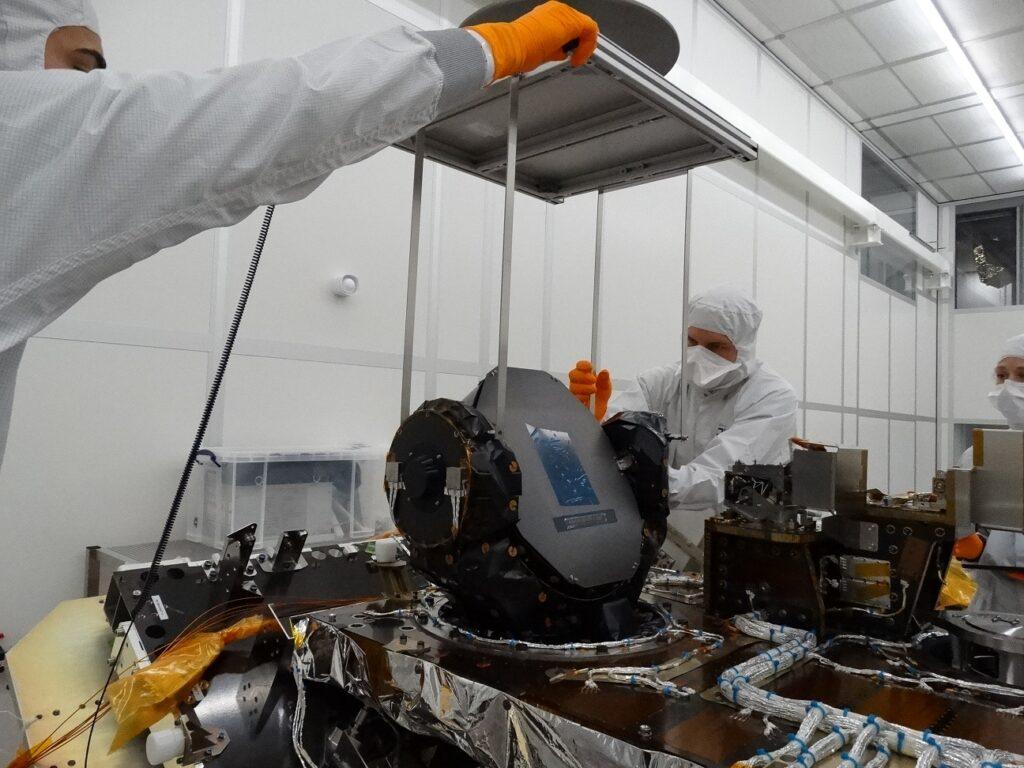 Escáner Sener Aeroespacial