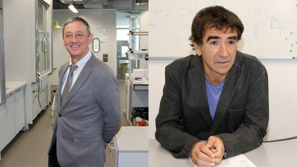 Juan Carlos Antigüedad y José Ramón Sarasua de Polibermio