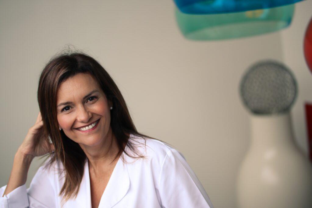 María Unceta-Barrenechea, directora y fundadora de la firma de cosmética María D'uol
