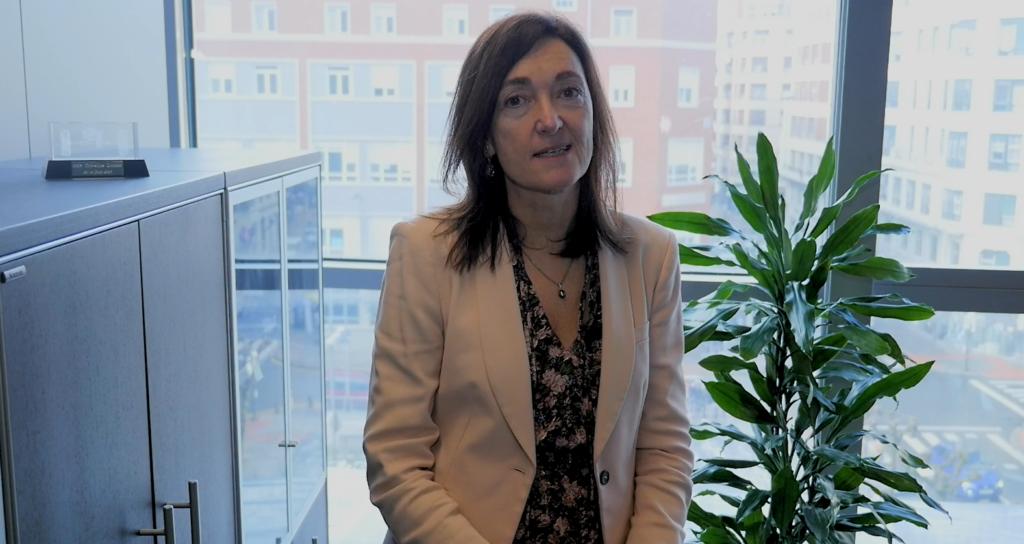 Cristina Oyon, directora del área de Tecnología, Innovación y Sostenibilidad del Grupo SPRI
