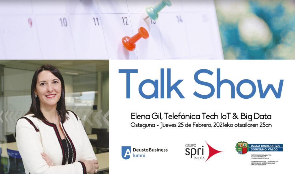 Talk Show Elena Gil