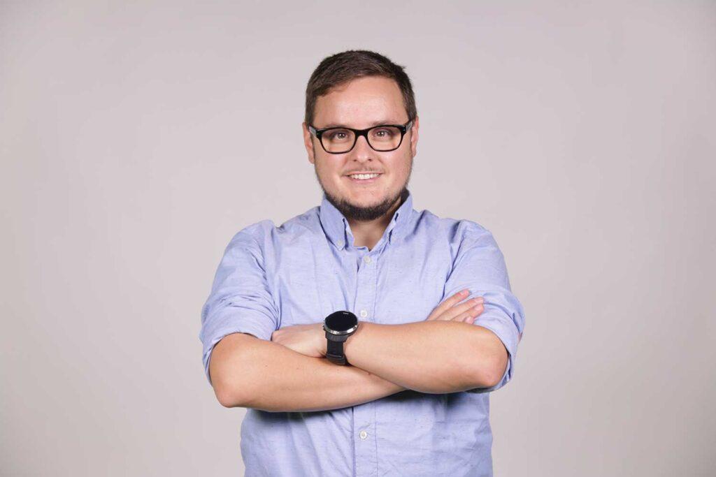 Koldobika Goikoetxea, cofundador y CEO de Tormesh
