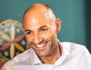 Óscar Villanueva, fundador y CEO de Nymiz