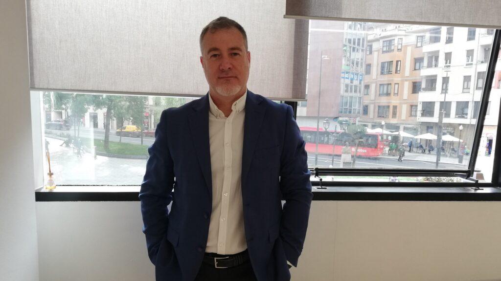 Joseba Monasterio, CEO de Mibering