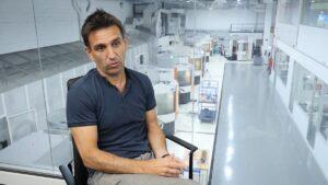 Xabier Egurbide, director de Ventas e Internacionalización de Createch Medical