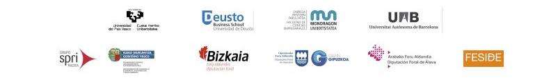 Observatorio Vasco de Emprendimiento GEM Logos