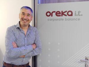 Iraitz Pérez de Goldarazena Urkiola, director general de Oreka IT