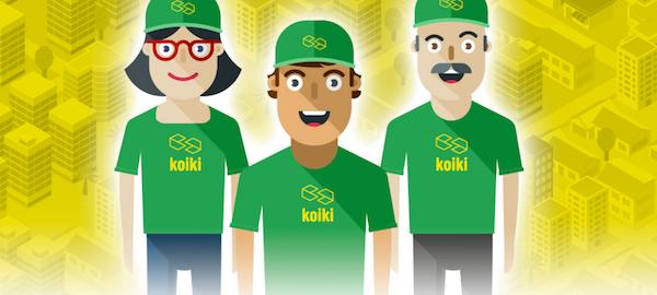 Pagina web de Koiki.