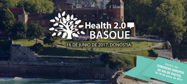 Cartel del encuentro Health 2.0 Basque.