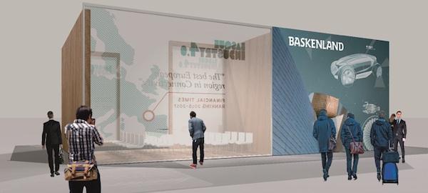 imagen 3D del stand Euskadi