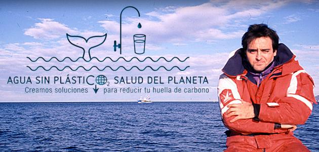 Alberto Santolaria de Castro agua sin plásticos