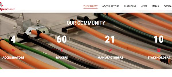 portal del proyecto Openmaker