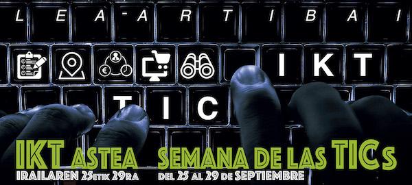 Cartel de la Semana TIC Lea Artibai