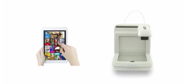 aplicación móvil e impresora 3D Voladd