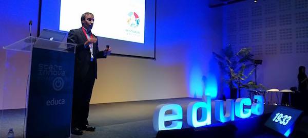 Merkat Bernaola en el congreso Innova Start.
