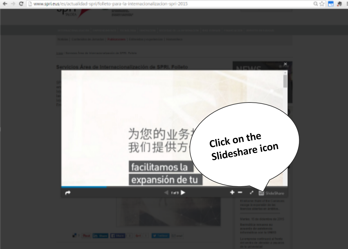 how to download our publications and presentations from slideshare