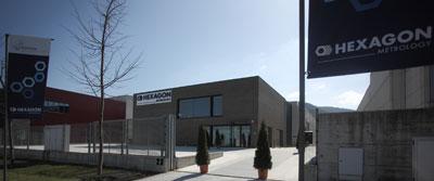 Sede de Hexagon Metrology en Vitoria.